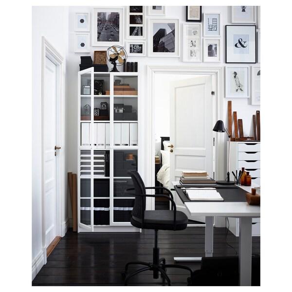 BILLY / OXBERG Estante, branco, 80x30x202 cm