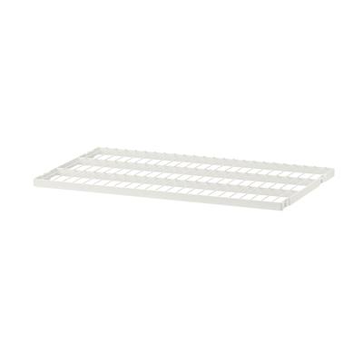 BOAXEL Prateleira metálica, branco, 60x40 cm