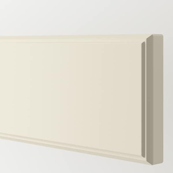 BODBYN Frente gaveta, branco-bege, 60x10 cm