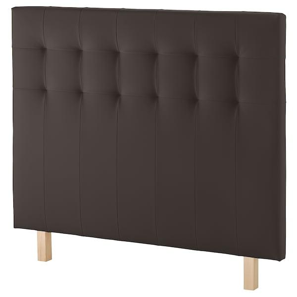BORGANN Cabeceira, Bomstad castanho escuro, 160 cm