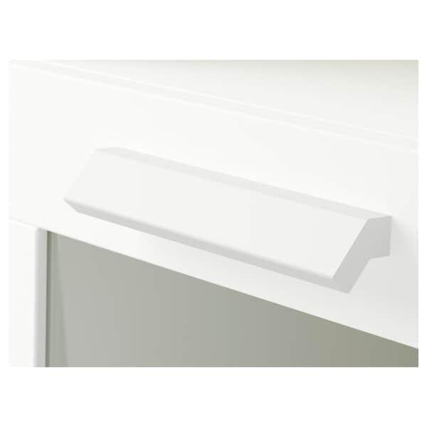 BRIMNES Mesa de cabeceira, branco, 39x41 cm