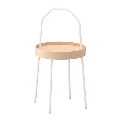 Burvik mesa de apoio branco ikea - Mesa exterior ikea ...