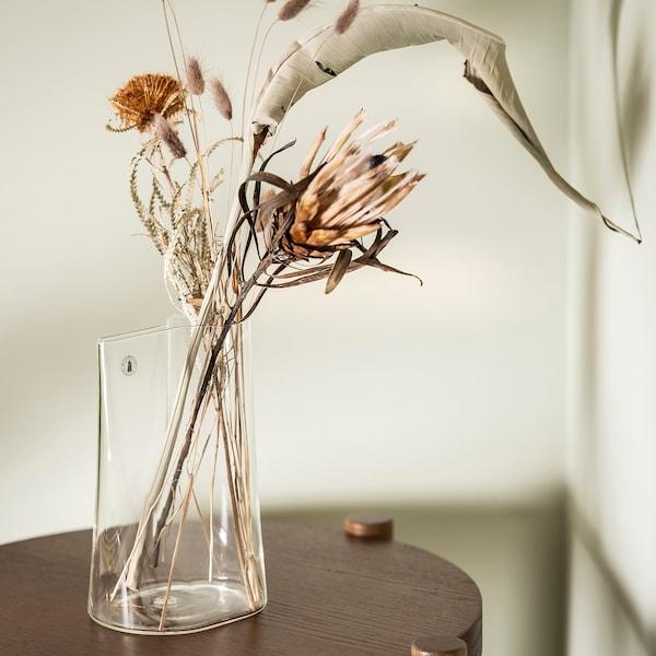 CHILIFRUKT Jarra/regador, vidro transparente, 21 cm