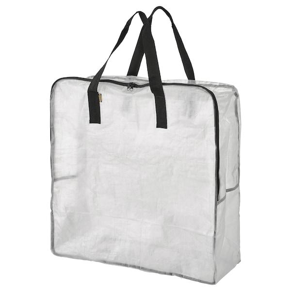 DIMPA Saco de arrumação, transparente, 65x22x65 cm