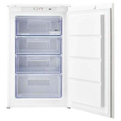 DJUPFRYSA Congelador integrado A++, branco, 98 l