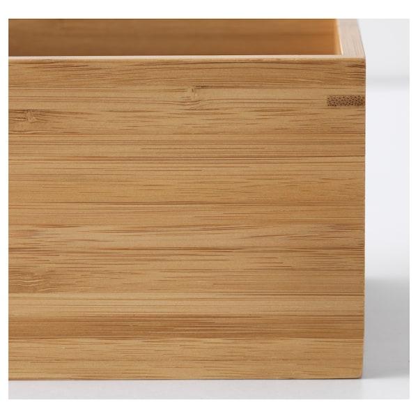 DRAGAN Acessórios de casa de banho 4 peças, bambu