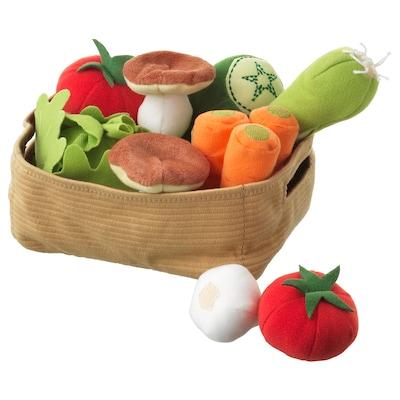 DUKTIG conj legumes, 14 peças