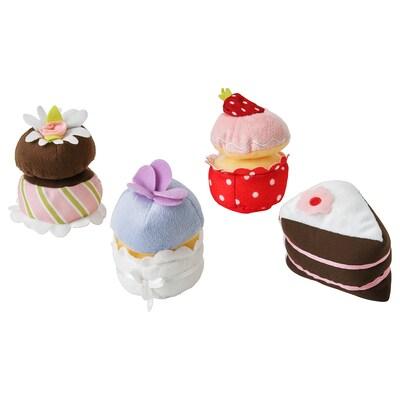 DUKTIG conjunto cupcake, 4 peças