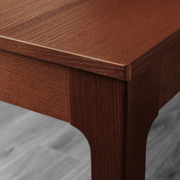 EKEDALEN / HENRIKSDAL Mesa e 6 cadeiras, castanho/Ramna cinz clr, 180/240 cm