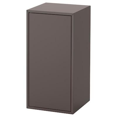 EKET Armário c/ porta e prateleira, cinz esc, 35x35x70 cm