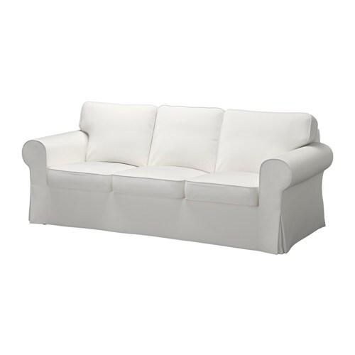 Ektorp sof de 3 lugares vittaryd branco ikea - Sofas grandes ikea ...