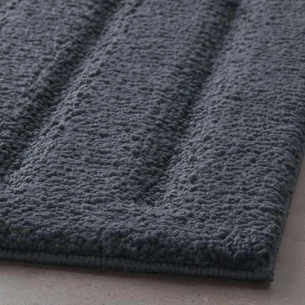 EMTEN tapete de casa de banho cinz esc 80 cm 50 cm 0.40 m²