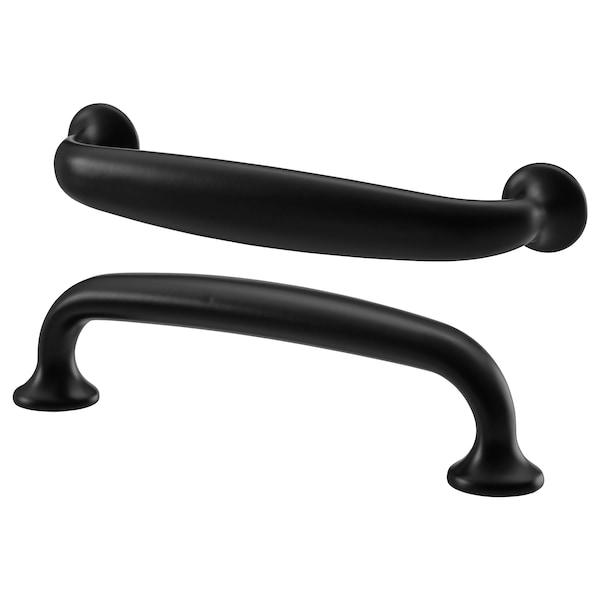 ENERYDA Puxador, preto, 112 mm