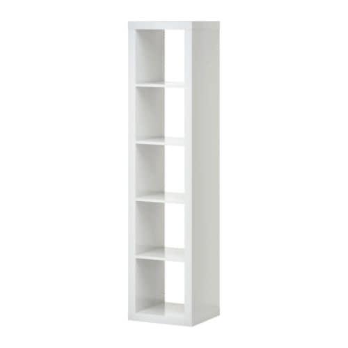 EXPEDIT Estante IKEA Pode colocar-se na horizontal ou vertical; adequado para usar como estante ou aparador.
