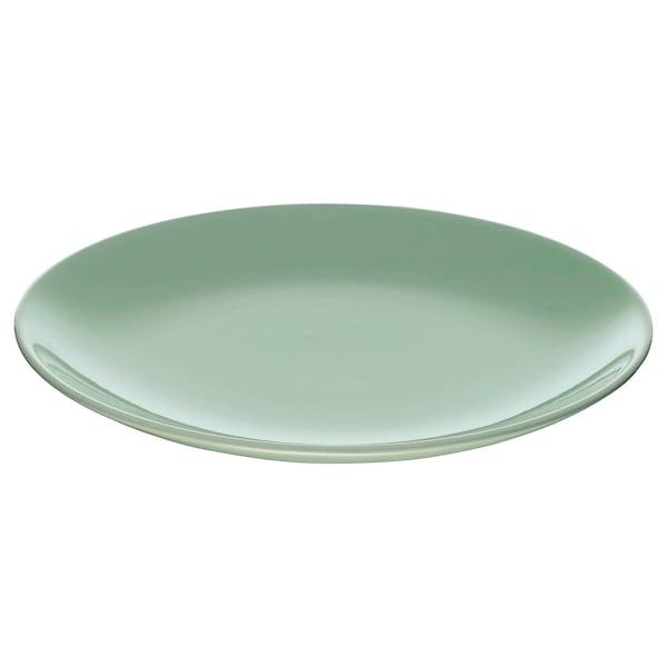 FÄRGRIK Prato de sobremesa, verde claro, 21 cm