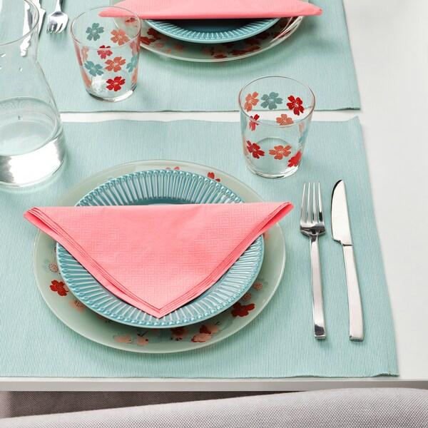 FANTASTISK Guardanapo de papel, rosa avermelhado claro, 40x40 cm