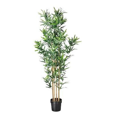 FEJKA Planta artificial em vaso, interior/exterior bambu, 23 cm
