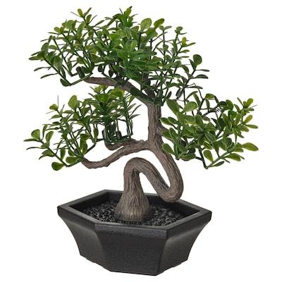 FEJKA Planta artificial em vaso, interior/exterior bonsai