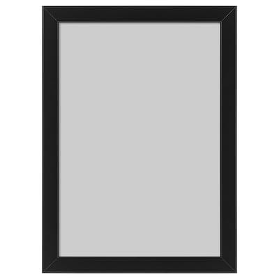 FISKBO Moldura, preto, 21x30 cm