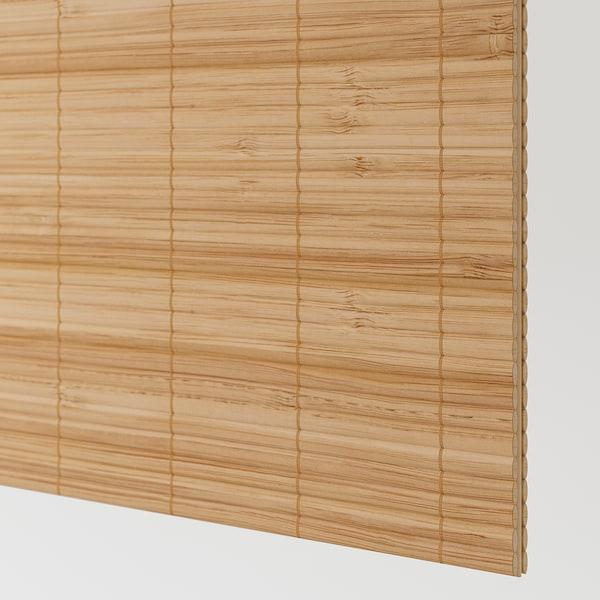 FJELLHAMAR Par de portas deslizantes, bambu escuro, 200x236 cm