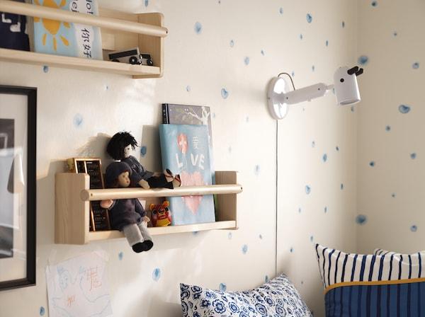 FLISAT Arrumação de parede, 70x9x16 cm