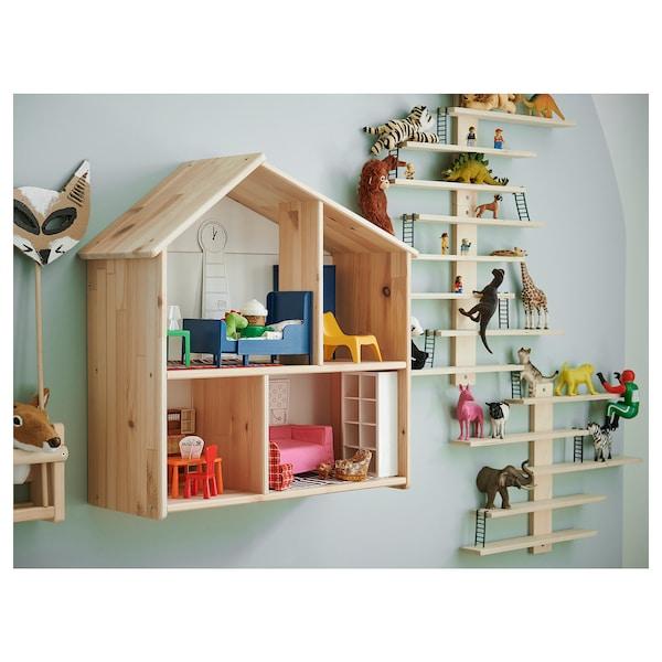 FLISAT Casa de bonecas/estante de parede