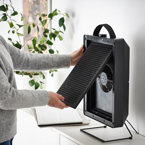 FÖRNUFTIG / VINDRIKTNING Purificador ar/sensor qualidade ar, branco/preto