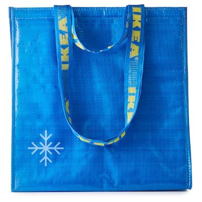 FRAKTA Saco térmico, azul, 38x40 cm
