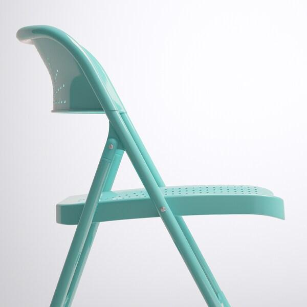 Frode Cadeira Dobr 225 Vel Turquesa Ikea