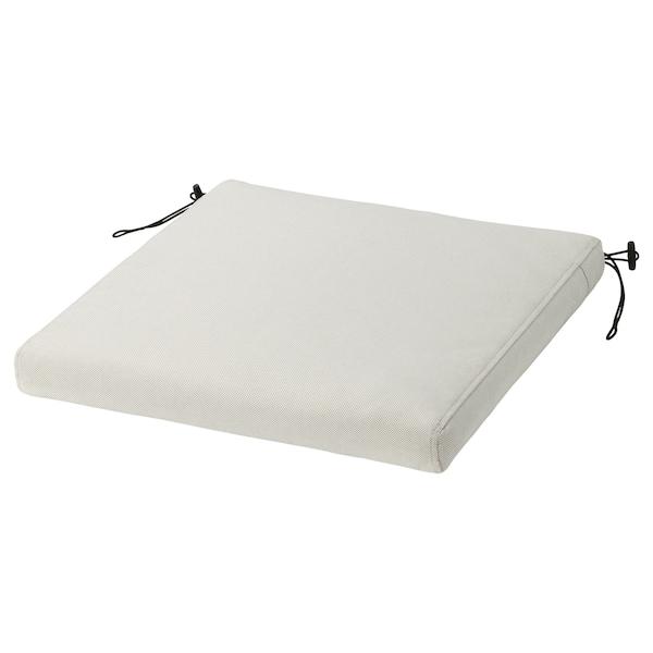 FRÖSÖN Capa p/almofada cadeira, exterior bege, 44x44 cm