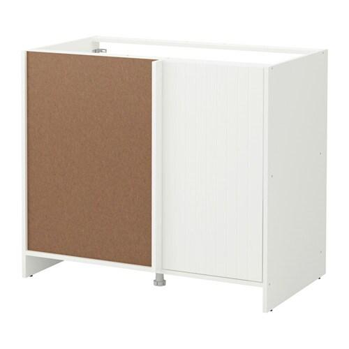 Adesivo De Anticoncepcional ~ FYNDIG Armário baixo de canto branco c padr u00e3o IKEA