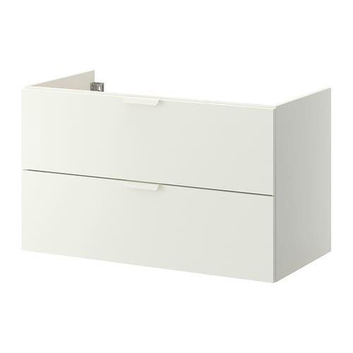 godmorgon arm rio p lavat rio c 2 gavetas branco 100x47x58 cm ikea. Black Bedroom Furniture Sets. Home Design Ideas