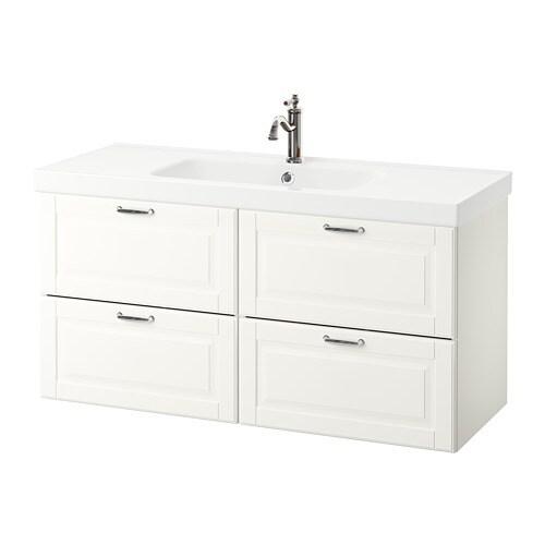 GODMORGON / ODENSVIK Armário p/lavatório c/4gavetas - IKEA
