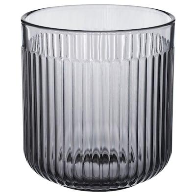 GRADVIS Vaso, interior/exterior cinz, 12 cm