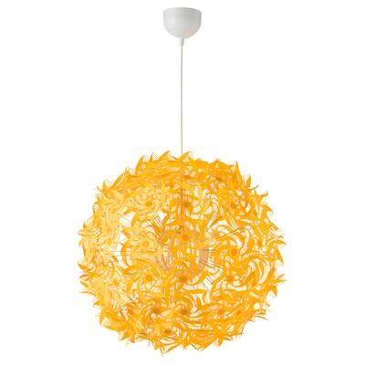 GRIMSÅS candeeiro suspenso amarelo 8.6 W 55 cm 1.4 m