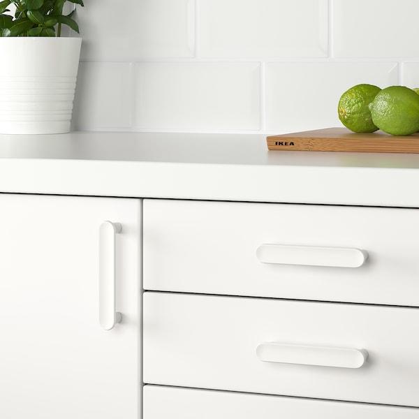 GUBBARP Puxador, branco, 116 mm