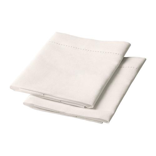 GULLMAJ Guardanapo IKEA Mistura de algodão/linho: combina a suavidade do algodão com o brilho e a resistência do linho.