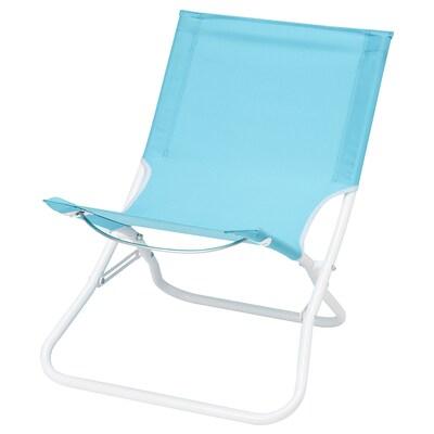 HÅMÖ Cadeira de praia, azul claro
