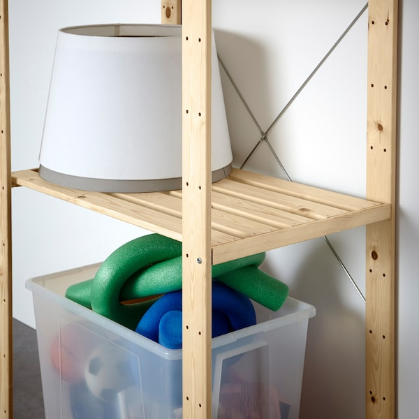 HEJNE 1 secção, madeira conífera, 78x50x171 cm