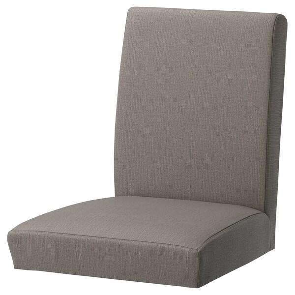 HENRIKSDAL Capa p/cadeira, Nolhaga bege acinzentado
