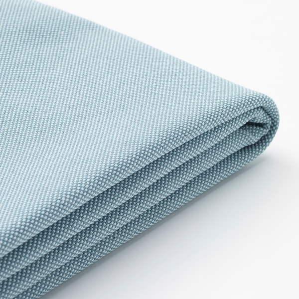 HOLMSUND Capa p/sofá-cama canto, Orrsta azul claro