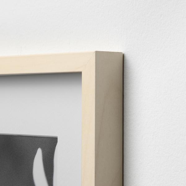 HOVSTA Moldura, efeito bétula, 40x50 cm