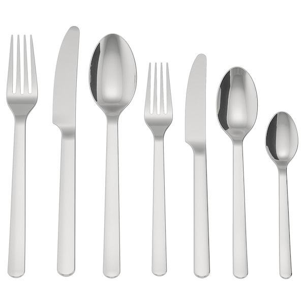 IKEA 365+ Faqueiro, 56 peças, aço inoxidável