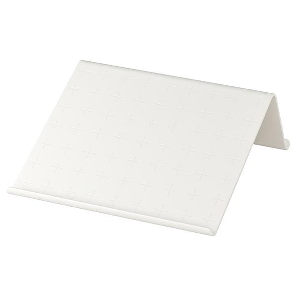 ISBERGET Suporte p/tablet, branco, 25x25 cm