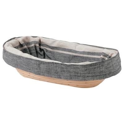 JÄSNING Cesto levedação/pão, 30x17 cm