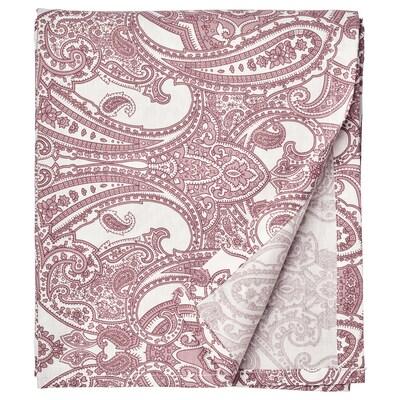 JÄTTEVALLMO lençol branco/rosa escuro 152 Polegada² 260 cm 240 cm