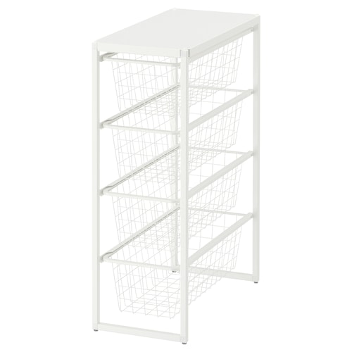 IKEA JONAXEL Estrut/cestos metál/prat sup