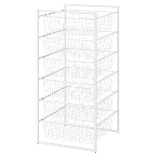 IKEA JONAXEL Estrutura c/cestos metálicos