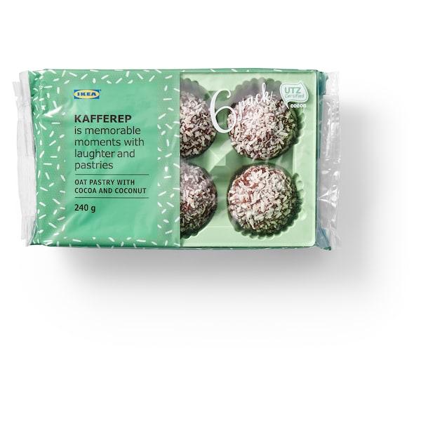KAFFEREP Bolinhos aveia c/chocolate e coco, Certificado UTZ