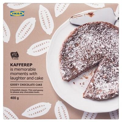 KAFFEREP Bolo de chocolate fundido, congelado/Certificado UTZ, 400 gr
